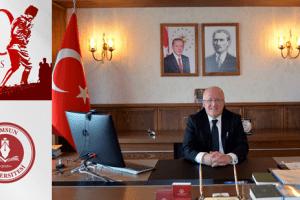 SAMÜ Rektörü Aydın'dan 30 Ağustos Zafer Bayramı Mesajı