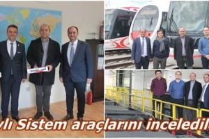 Portekizli Metro Yöneticileri SAMULAŞ'ta