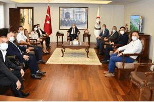 SAYİDER'den Samsun Valisi Dr. Zülkif Dağlı'ya Ziyaret