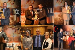 Samsun'da Muhteşem Gece;  100.Yıl Ödülleri Sahiplerini Buldu