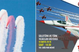Solo Türk ve Türk Yıldızları 19 Mayıs'ta Samsun'u Selamlayacak