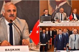Başkan Zorluoğlu Doğu Karadeniz Belediyeler Birliği Başkanlığına Seçildi