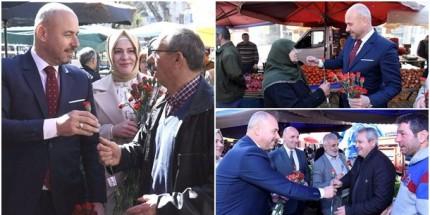 Togar'dan Pazarcı Esnafa Ziyaret
