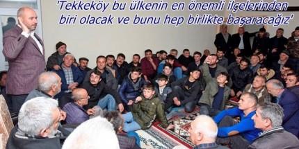 Togar: 'Tekkeköy Halkını Kimse Kandıramaz'