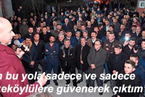 Togar: 'Biz Tekkeköy'den Yana Tarafız'