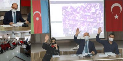 Terme Belediye Meclisi Azerbaycan İçin Tek Yürek Oldu
