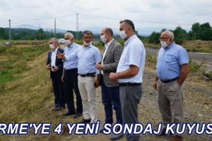 SASKİ'den Terme'ye 4 Yeni Kuyu Müjdesi
