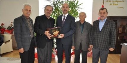 Türkiye Gazetesi'nden Başkan Kılıç'a Hayırlı Olsun Ziyareti
