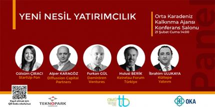 Teknoloji Yatırımcıları Samsun'da