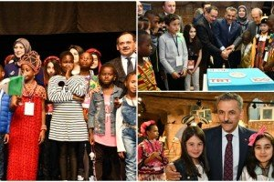 41.TRT Uluslararası 23 Nisan Çocuk Şenliği Samsun'da Başladı