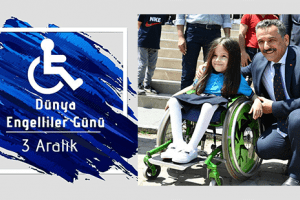 Vali Osman Kaymak'tan '3 Aralık Dünya Engelliler Günü' Mesajı