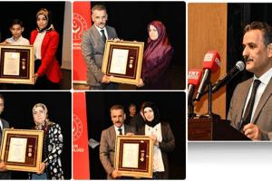 Devlet Övünç Madalyası Ve Beratı Şehit Aileleri Ve Gazilere Tevdi Edildi