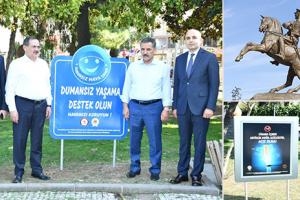 Anıt Park Dumansız Hava Sahası İlan Edildi