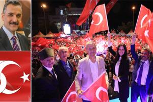 Vali Osman Kaymak'tan 15 Temmuz Mesajı