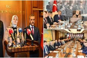 Aile, Çalışma ve Sosyal Hizmetler Bakanı Zehra Zümrüt Selçuk Samsun'da