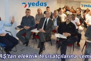 YEDAŞ'ta 'Sürekli ve Kaliteli Elektrik' Temalı Seminer