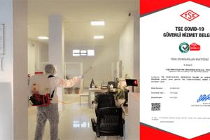 YEPAŞ, Covid - 19 Güvenli Hizmet Belgesi Alan İlk Elektrik Satış Şirketi