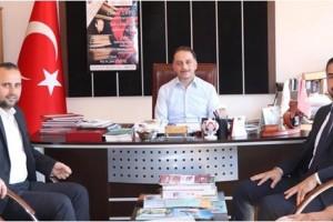 Ayvacık Belediye Başkanı Kalaycı'dan Kültür Müdürü İpekdal'a Ziyaret