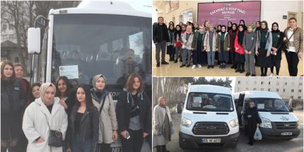 Bafra Belediyesi'nden Kitap Fuarı'na Ücretsiz Araç Seferi
