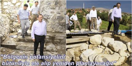 """Vezirköprü'nün """"Üstü Turizm Cenneti, Altı Medeniyetler Müzesi """""""