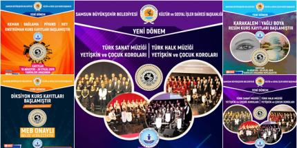 Samsun Büyükşehir Konservatuvarı'nda Kayıt Zamanı
