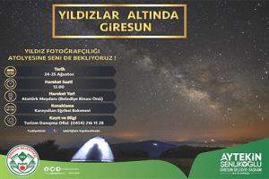 """Fotoğraf Tutkunları İçin Giresun'da """"Yıldız Fotoğrafçılığı"""" Etkinliği"""