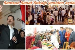 Türkiye'nin İlk Sanat Sokağı Canlanacak