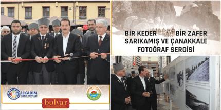 """""""Bir Keder Bir Zafer Sarıkamış ve Çanakkale Sergisi""""ne Mehterli Açılış"""