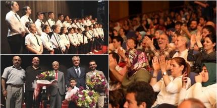İlkadım'da Anadolu'dan Ezgiler Alkış Aldı