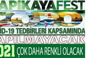 Kapıkaya Festivali İptal Edildi