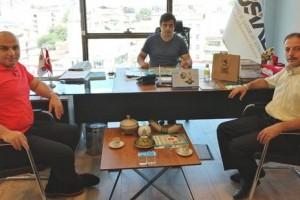 Samsun İl Kültür ve Turizm Müdürü İpekdal'dan MÜSİAD'a Ziyaret