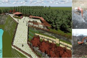 400 Yıllık Tarihi Caminin Çevre Düzenleme Çalışmaları Yapılıyor