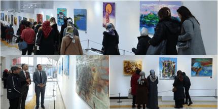 """""""Ordu'nun Renkleri Resim Sergisi"""" Fatsa'da Sanatseverlerle Buluştu"""