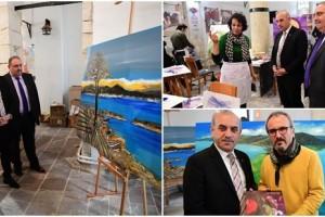 Uluslararası Sanatçılar Ordu'yu Resmediyor