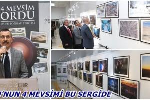 """""""4 Mevsim Ordu Fotoğraf Sergisi"""" Fatsa'da Açıldı"""