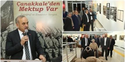 """""""Çanakkale'den Mektup Var""""  Sergisi Açıldı"""