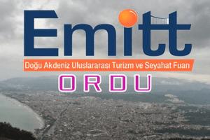 Ordu Büyükşehir Belediyesi EMİTT Fuarına Katılıyor