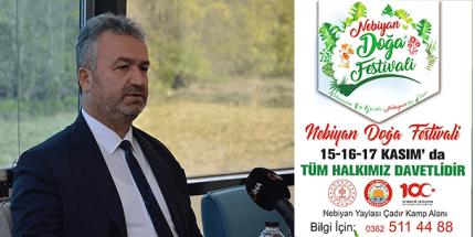 Yılın Son Festivali Samsun'da; Nebiyan Doğa Festivali