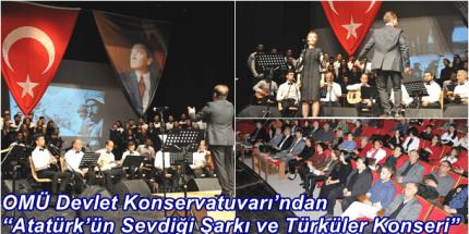 10 Kasım'a Özel Atatürk'ün Sevdiği Şarkı ve Türküler Konseri