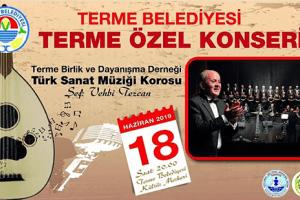 Terme'de Türk Sanat Müziği Konseri