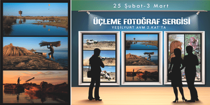 Yeşilyurt AVM'de''Üçlemeler'' Temalı Fotoğraf Sergisi