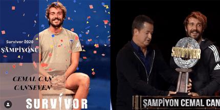 Survivor 2020'nin Şampiyonu Cemal Can Oldu