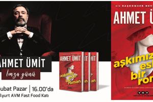 Yeşilyurt AVM Usta Kalem Ahmet Ümit'i Konuk Edecek