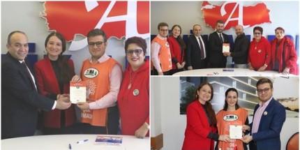 Tema gönüllüleri Büyük Anadolu'yu Seçti