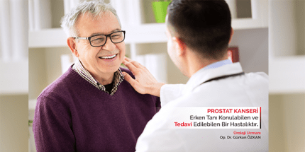 Prostat Kanseri'nde Düzenli Sağlık Kontrolü Hayati Önem Taşıyor