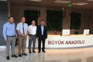 Vali Kaymak, Büyük Anadolu Hastaneleri Yeni Hizmet Binasını Ziyaret Etti