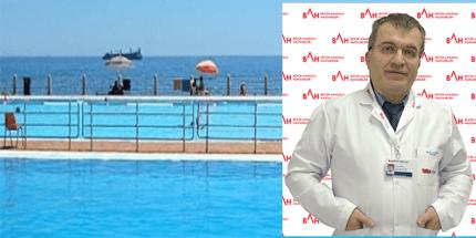 Kulak Sağlığı İçin Havuz ve Denizde Önlem Alın