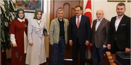 Büyük Anadolu'dan Başkan Demir'e Hayırlı Olsun Ziyareti
