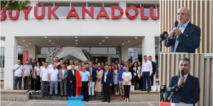 Büyük Anadolu Hastaneleri Yeni Binasının Kapılarını Açıyor