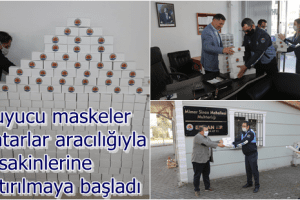 Atakum Belediyesi 50 Bin Maskeyi Ücretsiz Dağıtıyor